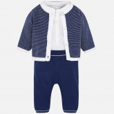 Mayoral compleu casual baieti 3 piese Navy 01