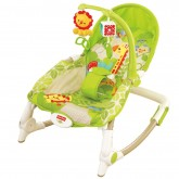 Fisher Price Balansoar portabil cu vibratii Newborn to Toddler Portable Rocke 0m+
