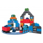 Fisher Price Set cuburi Mega Bloks Thomas la munte 2ani+