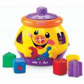"Fisher Price Jucarie cu surprize si forme ""Cookie Shape Surprise"" 6m+  In limba maghiara"