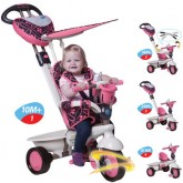 Smart Trike Tricicleta DREAM 4in1 Touch Steering 10m+ Roz