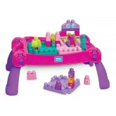 Fisher Price Mega Bloks Build 'N Learn Masa interactiva si cuburi 12m+ 01
