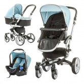 Chipolino carucior 3in1 Angel 0m+ Blue Mist