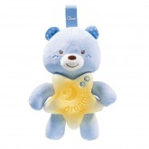 Chicco First Dreams Goodnight Bear proiector muzical ursulet 0m+, Blue 915620 01