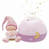Chicco Proiector muzical si lampa de veghe First Dream 0m+ Girl 01