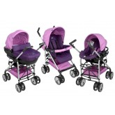 Chicco carucior Trio Sprint 3in1 Lavender 01