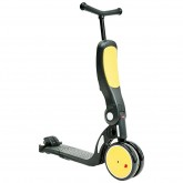 Chipolino bicicleta, tricicleta si trotineta All Ride 4in1, Yellow 01