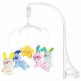 Chipolino carusel muzical 0m+, Baby Bunnies MILC01811BB