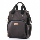 Chipolino geanta mamici si rucsac 2in1, Brown Leather
