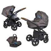Coletto carucior 3in1 model Milano 0m+ Brown 01
