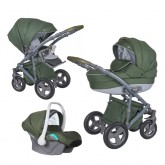 Coletto carucior 3in1 model Milano 0m+ Green 01