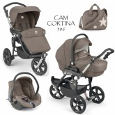 "Cam Carucior 3in1 ""Cortina X3 Tris Evolution"" 0m+ Maro 586"