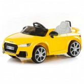 Chipolino masinuta electrica Audi TT RS Yellow 01