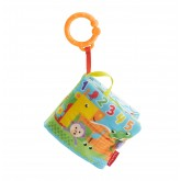 Fisher Price Jucarie interactiva carticica moale cu distractii 0m+