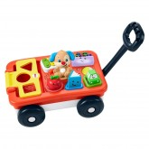 Fisher Price jucarie interactiva Pull&Play Learning Wagon 6m+ 01