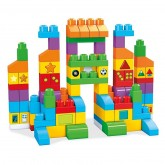 Fisher Price Mega Bloks First Builders set constructii 150 piese, 12m+ FVJ49 01