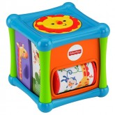 Fisher Price Cub de activitati cu  animale de la 6 luni
