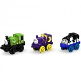 Fisher Price Set 3  locomotive MINI Thomas & Friends de la 3 ani