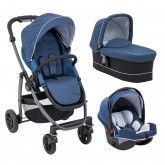Graco carucior 3in1 Evo Avant 0m+, Ink G6CL197INKEU-3-in-1.01