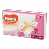 Huggies scutece copii Ultra Comfort 4 Box 8-14 kg, 66 buc, Girl