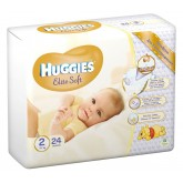 Huggies scutece copii Elite Soft  01