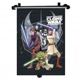Disney parasolar retractabil 1 buc, Clone wars