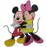 Disney Decoratiune Perete Mickey and Minnie