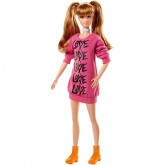 Mattel Barbie Fashionistas papusa 3 ani+, Wear Your Heart Tall FBR37 FJF44 01