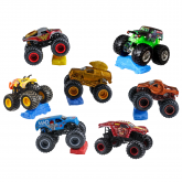 Mattel Hot Wheels Monster Jam masinuta 3 ani+, modele asortate