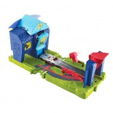 Mattel Hot Wheels set de joaca atacul orasului 4-8 ani, City Bat Manor Attack