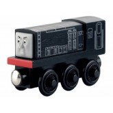 Fisher Price Locomotiva din lemn Diesel 2ani+