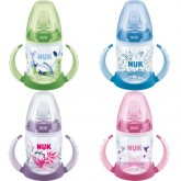NUK  Biberon First Choice  PP 150ml cu 2 toarte si adaptor din silicon 6m+