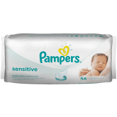 Pampers Servetele umede Sensitive 56 buc/set