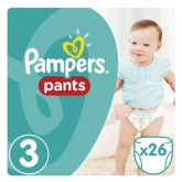Pampers active baby pants 3 Midi, 6-11 kg, 26 buc 01