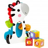 Fisher Price Zebra creativa cu cuburi 6m+