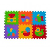 Baby Ono Covor de joaca tip puzzle 6 piese 6m+ Animale