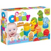 Clementoni cuburi Clemmy Baby cu forme si animale 01