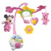 Clementoni carusel muzical multifunctional 2 in 1 - Disney, Minnie Mouse, de la 0 luni