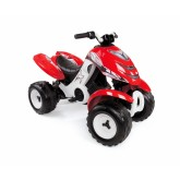 Smoby ATV electric X Power 36m+, Rosu