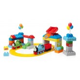 Fisher Price Set cuburi Mega Bloks Sodor's Big Celebration  2ani+