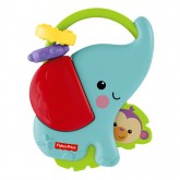 Fisher Price Jucarie de dentitie zornaitoare Elefant 3m+
