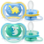 Philips Avent Ultra Air suzeta silicon 18m+ 2 buc, Baieti